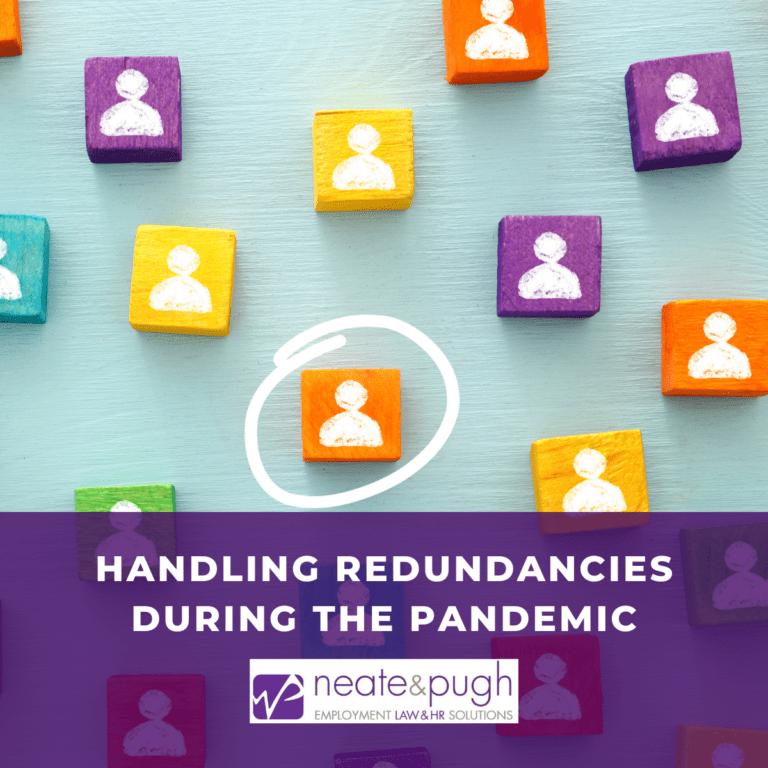 blog handling redundancies during covid